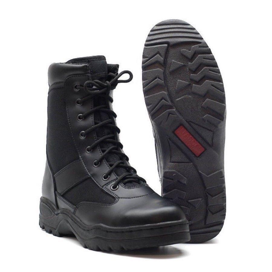 Outdoor Stiefel Boots Army Kampfstiefel US Springerstiefel BW black Polizei