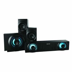 Sharper Image Sbt3009bk 31 Ch Home Theater Speaker System With