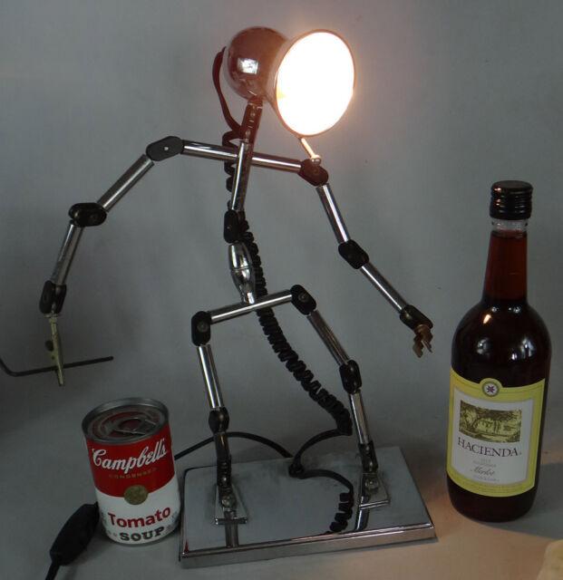 Iron Man Lamp Robot Retro Table Lamp - Buy Iron Man Lamp