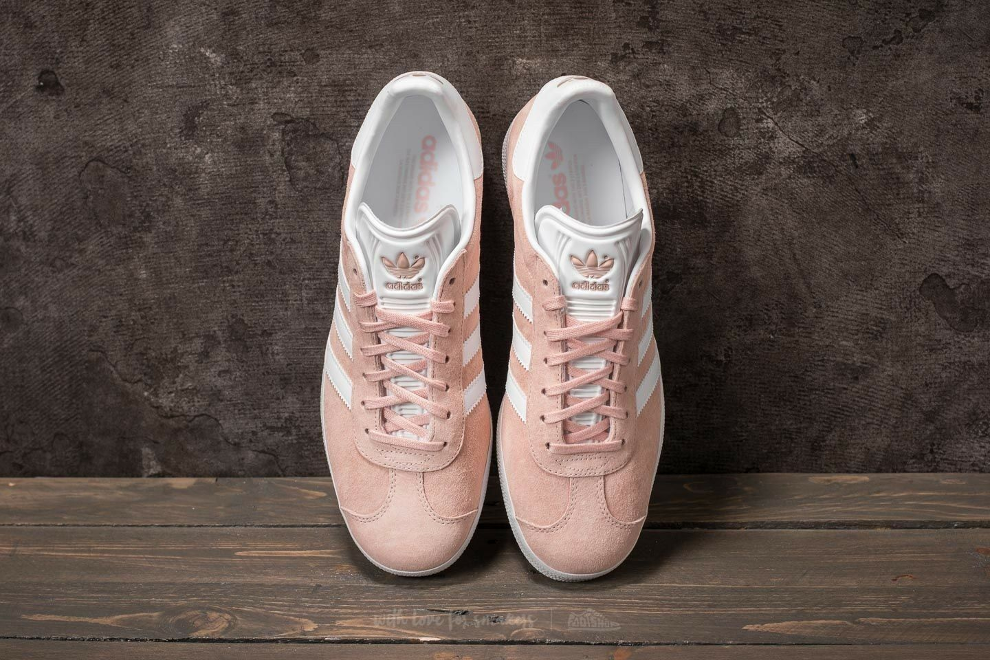 Adidas Gazelle Salmon Light Trainers Pink White GOLD Trainers Light Shoes Sneakers BB5472 Men 9 9f7826