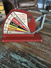 Cyclone A TESTED LINE Quality Rustic Vintage Tin Poultry Egg Scale