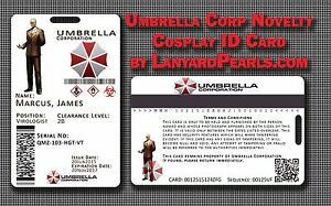 Resident-Evil-Umbrella-Corporation-Corp-Cosplay-ID-FULLY-CUSTOMISABLE