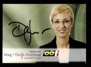 Doris-Hummer-Autogrammkarte-Original-Signiert-BC-126985