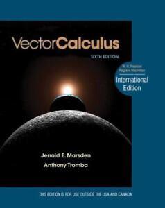 vector calculus marsden 5th edition solutions manual pdf