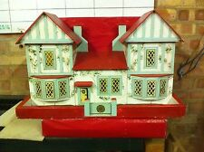 Vintage Gee bees 1:24th (?) Scale Country Manor Dolls House. Collectors Piece.