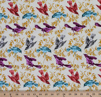 Cotton Anna Maria Horner Honor Roll Chatterbox Birds Cotton Fabric Print D405.10
