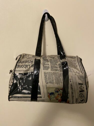 Newspaper Style Fashion Bag For Women
