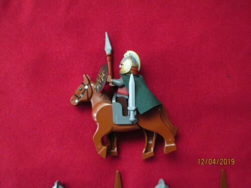Eomer  /& Rohan  Soldiers Armor,Helmet,Weapons LEGO LOTR Minifigures Lot
