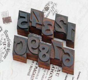 0-9-Zahlen-36mm-Plakatlettern-Lettern-Druckstempel-Stempel-Typen-Schrift-stamps