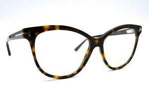 NEW-TOM-FORD-TF5511-052-BUTTERFLY-HAVANA-AUTHENTIC-EYEGLASSES-FRAME-RX-54-14-35