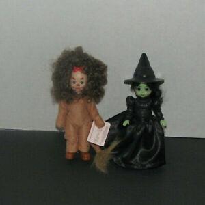 Wizard of Oz Cowardly LION Madam Alexander McDonald #4 Mint /'07 new