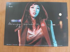 GONG MINZY - Minzy Work 01 Uno [OFFICIAL] POSTER K-POP *NEW* 2NE1