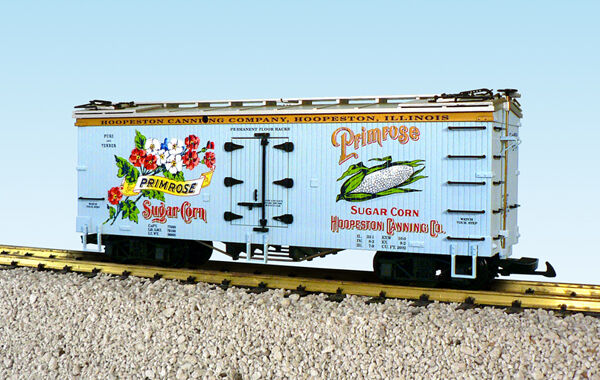 USA Trains G Scale R16337 PRIMROSE SWEET CORN REEFER