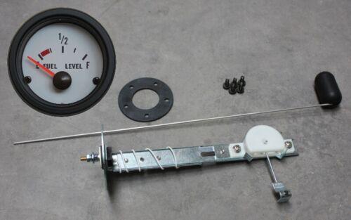 Medidor de gasolina tankuhr set Weiss Carver Wellcraft bavaria four normalmente maxum donantes