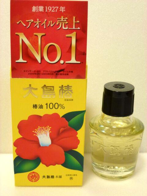 JAPAN OSHIMA TSUBAKI 100% Natural Camellia seed Hair Care Oil 60ml
