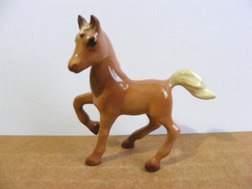 Hagen Renaker Frisky Foal Colt Miniature Animal Figurine Horse Support Wildlife