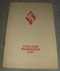 Original-1928-Passenger-list-and-information-for-R-M-S-Carinthia-Cunard-Line