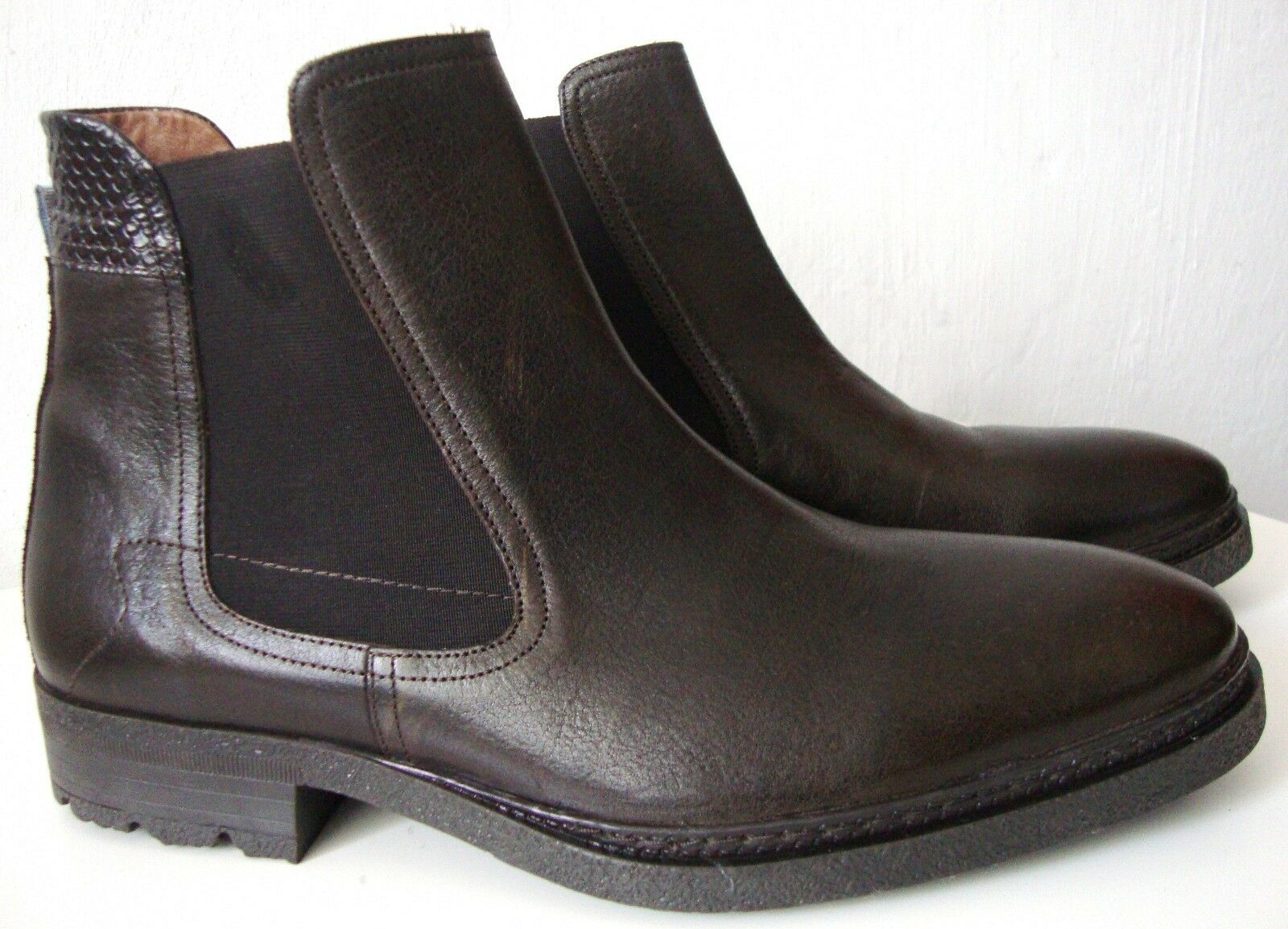 FLORIS VAN BOMMEL Stiefel Herren Stiefel Stiefel Stiefel Stiefelette Schuhe Halbschuhe Gr.43 NEU e394da