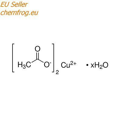 Copper (II) acetate monohydrate, 98% reagent 50g, CAS 6046-93-1 EU Stock!