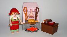 Playmobil Natale Venditrice con Cucina e Alimenti,,Pastorella,Contadina, Portal,