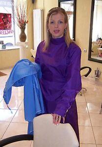 polyamide 66 veritable blouse coiffeuse nylon turquoise. Black Bedroom Furniture Sets. Home Design Ideas