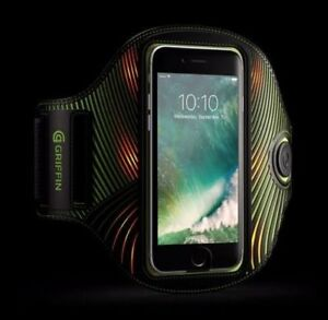 Griffin-Light-Runner-Black-Arm-Band-For-iPhone-Smartphones-up-to-5-5-034