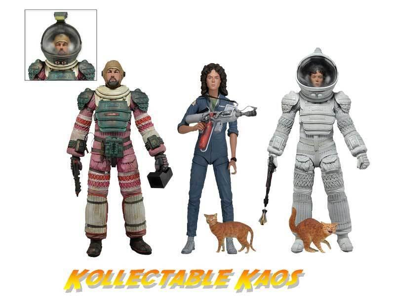 Alien - Series - 4 - 17.5cm(7 ) Action Figure - Set of Three