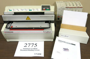 Standard-Accubind-Document-Binding-System-Book-Taping-Machine-by-Planatol
