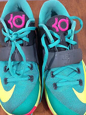 7e2467e7a4f item 4 Youth Nike KD VII 7 GS Shoes Unisex 5Y Kevin Durant Hyper Jade Volt  669942-300 -Youth Nike KD VII 7 GS Shoes Unisex 5Y Kevin Durant Hyper Jade  Volt ...