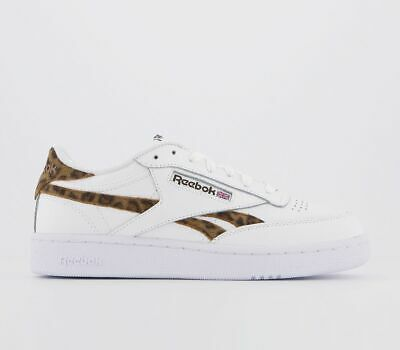 Classic Club C 85 MU sneakers in off white with red back tab