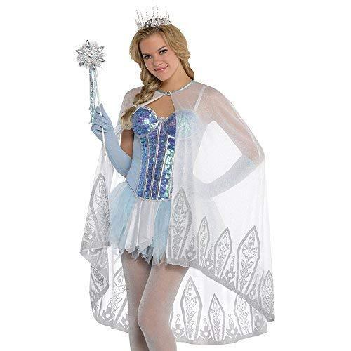 Amscan Ice Fairy Shimmering Cape