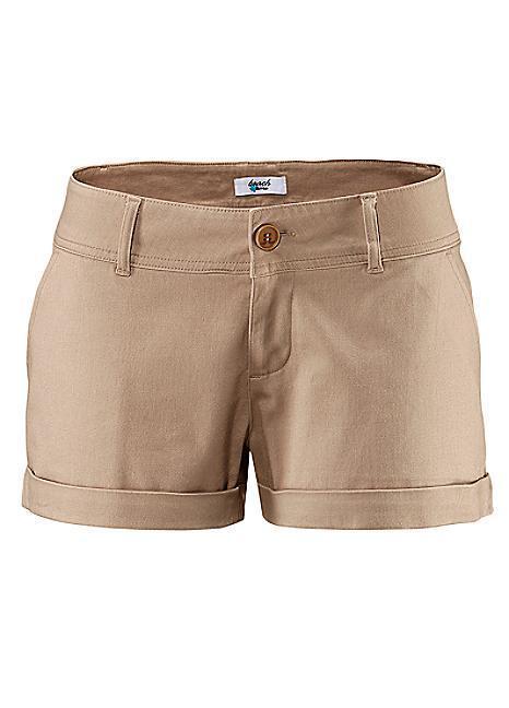 Beach Time Damen Hotpants Shorts kurze Hose Bermuda Stretch sand 102896