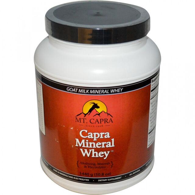 Mt. Capra, Capra Mineral Whey, 3.17 Lbs (1440 G)