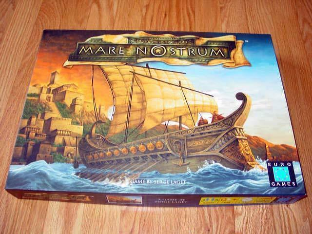 Euro Games - MARE NOSTRUM - Build the Wonders of the World and more - ExNrMt