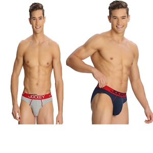 3d47b47dd2e5 PACK OF 2 Jockey Men's Brief For Mens Modern Low Rise Bold Brief ...