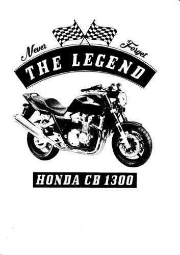 Oldtimer Motorcycle Honda CB 1300 Youngtimer Bike T-shirt
