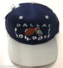 NWT NFL Dallas Cowboys Kids / Juniors Snapback Logo 7 Cap Flat Brim Hat NEW