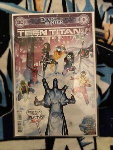 Special #1 NM DC Comics 2020 Teen Titans Endless Winter Part 6
