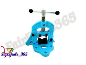 HI-QUALITY-BENCH-PIPE-VISE-CLAMP-TYPE-PLUMBER-039-S-VICE-HAND-TOOLS-CAPACITY-10X40MM