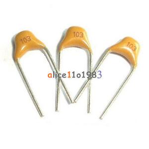 100pcs 103 50v 0 01uf Monolithic Ceramic Chip Capacitor Ebay