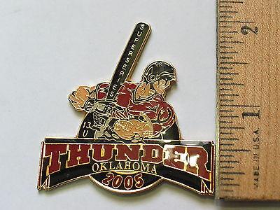 Fanartikel Thunder Super Serie Oklahoma Baseball Reversnadel #126