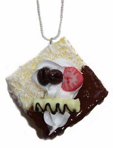 FANCY-CAKE-CHOC-DONUT-KITCH-HAND-MADE-NECKLACE-KAWAII-EMO-LOLITA