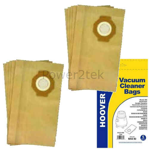10 x H15 H16 sacs aspirateur pour hoover S4514 S5000 S5414 hoover uk