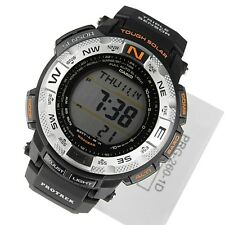 NEW* CASIO MENS G SHOCK OUTDOOR SOLAR ALT BAR WATCH TEMP PRG-260-1D RRP£149