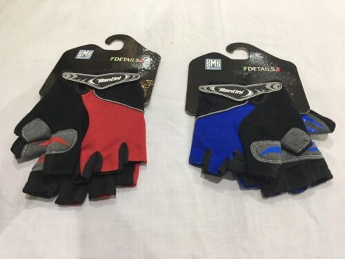 Santini SMS Sp367sum Limes summer red glove mits