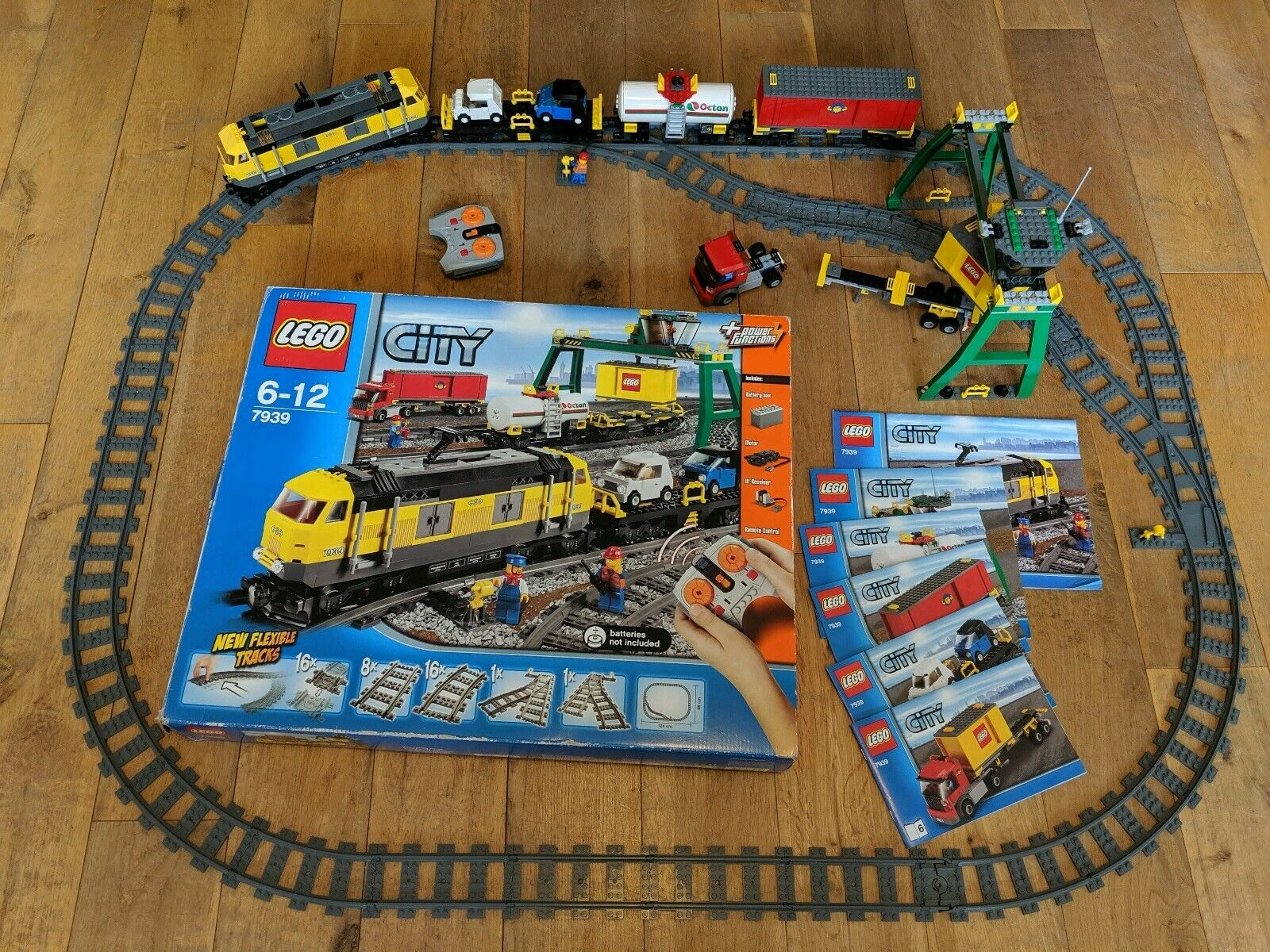 Very  Rare Lego City Motorised voiturego Train Set 7939  100% Complete With Box VGC  confortable