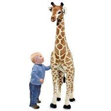 Plush Stuffed Animal Giraffe Large Standing Kids Children Playroom Toys Nursery