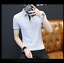 Cotton-Men-039-s-Fashion-Slim-Short-Sleeve-Shirts-T-shirt-Casual-Tops-Blouse-Top thumbnail 4