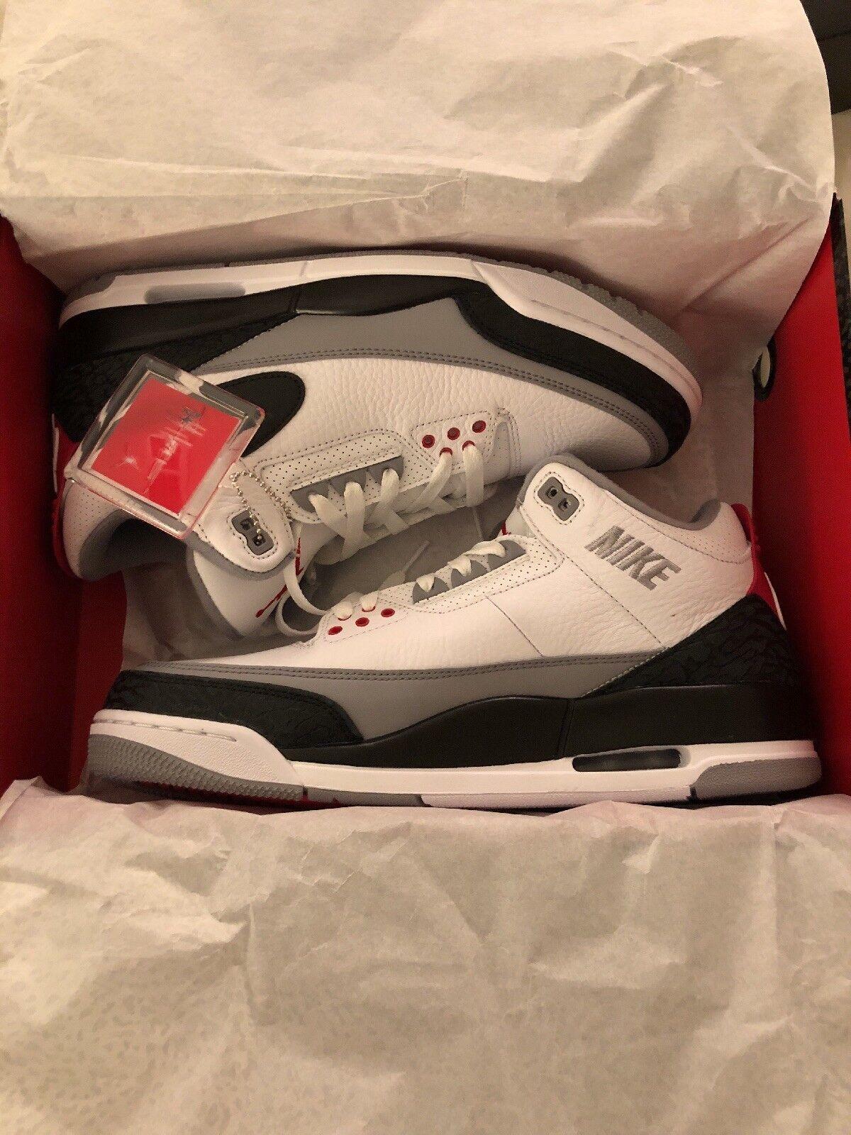 New Nike Air Jordan Retro 3 NRG Price reduction Casual wild