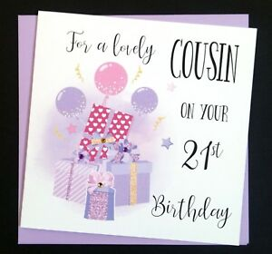 Image Is Loading Handmade Birthday Card Cousin Daughter Sister Friend 16th
